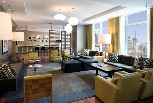 The Epic Lounge - Manhattan Apartments for rent