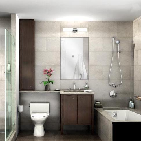 205 East 59th Street Bathroom - Manhtattan Rental Apartments