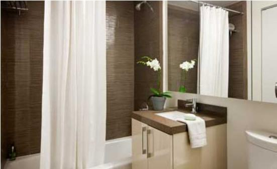 450 West 42nd apartments for rent master bathroom