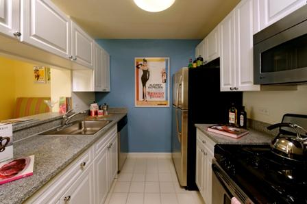 Kitchen at The Sagamore rentals - 189 West 89th Street Manhattan