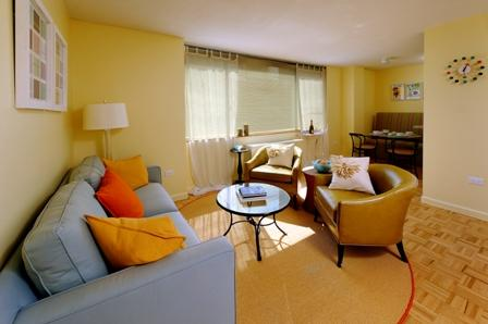 Living room at The Sagamore rentals - 189 West 89th Street