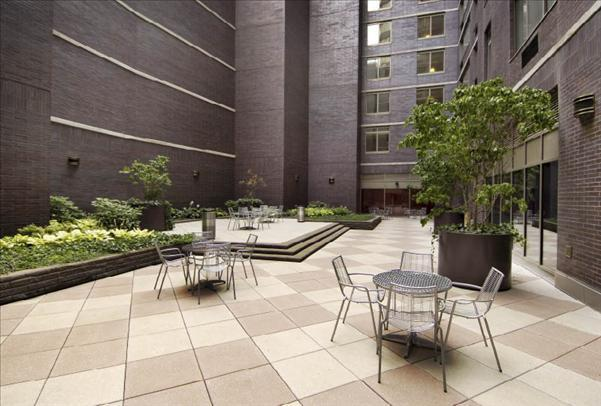 Trump Place Outdoor Area - 160 Riverside Boulevard apartments for rent