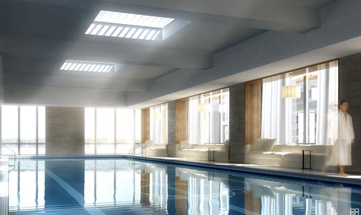 Silver Towers Swimming Pool - Clinton Apartment Rentals