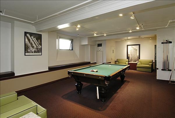 71 Broadway Pool Table - NYC Rental Apartments