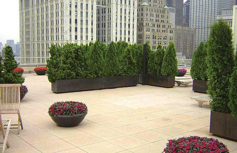 50 Murray Street Roof Terrace - NYC Rental Apartments