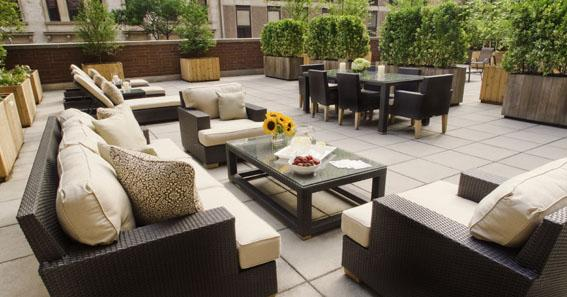 400 West 59th Street Rooftop Lounge - Manhattan Rental Apartments
