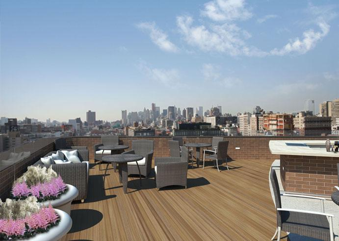 2 Cooper Square Roof Deck - NYC Rental Apartments