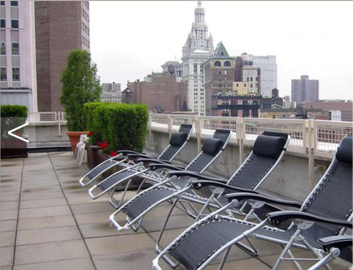 The Metro Roof Garden – Financial District  Apartment Rentals
