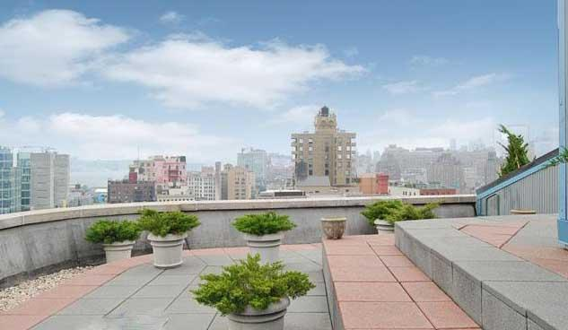 666 Greenwich Street Roofdeck - NYC Rental Apartments