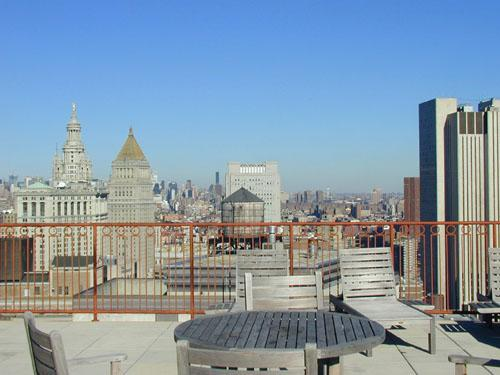 100 John Street Rooftop Garden - NYC Rental Apartments