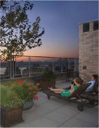 West River House Roofdeck - Manhattan Apartments for rent