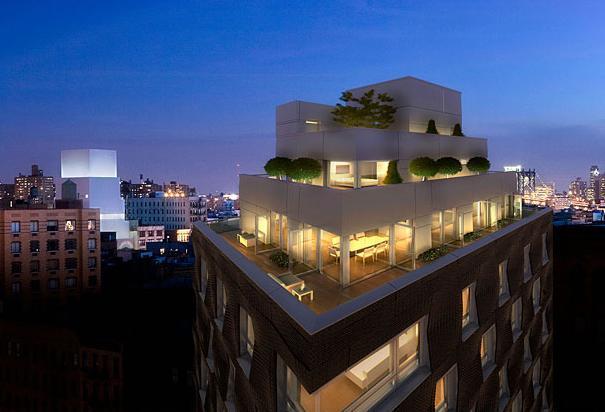 290 Mulberry Street Rooftop, NYC, Nolita