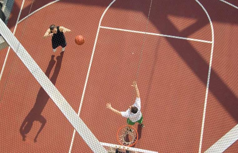 50 Murray Street Basketball Court - Manhattan Rental Apartments