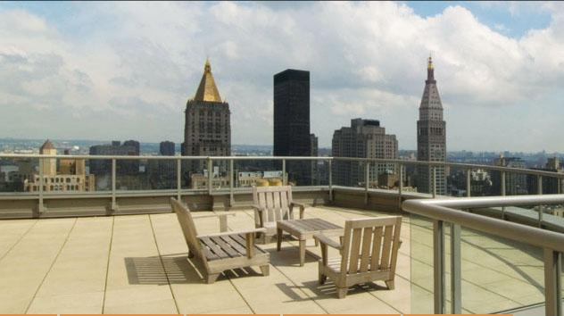 800 Sixth Avenue Rooftop Deck - NYC Rental Apartments