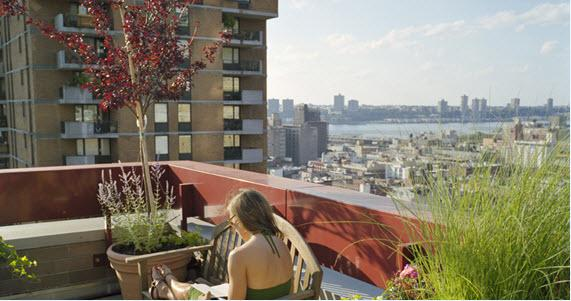 360 West 43rd Street Rooftop Deck - Manhattan Apartments for rent