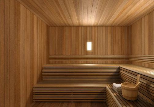 400 West 63rd Street Sauna – NYC Rental Apartments