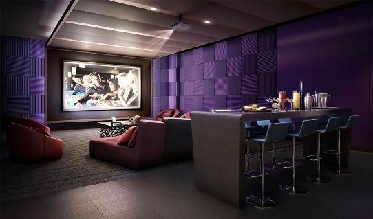 450 West 42nd Street Screening Room - Manhattan Rental Apartments