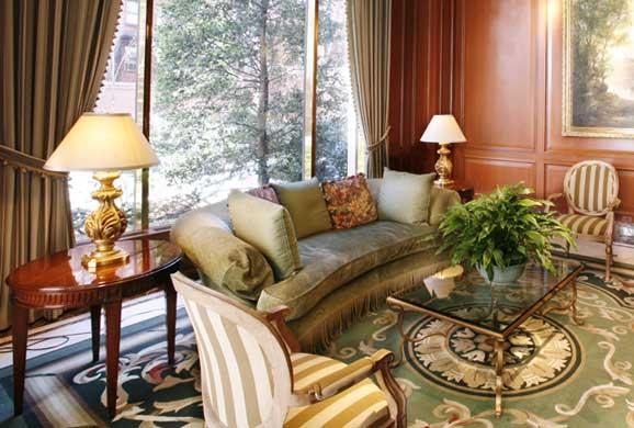 Paramount Tower rental building Sitting Room – NYC Flats