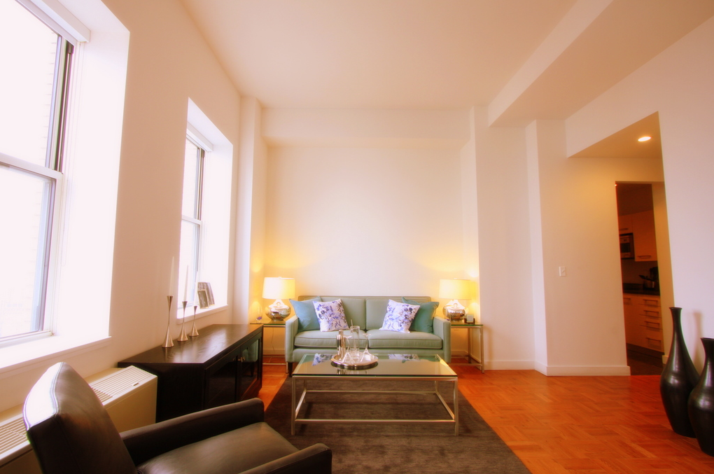 20 Exchange Place apartments Sitting Room