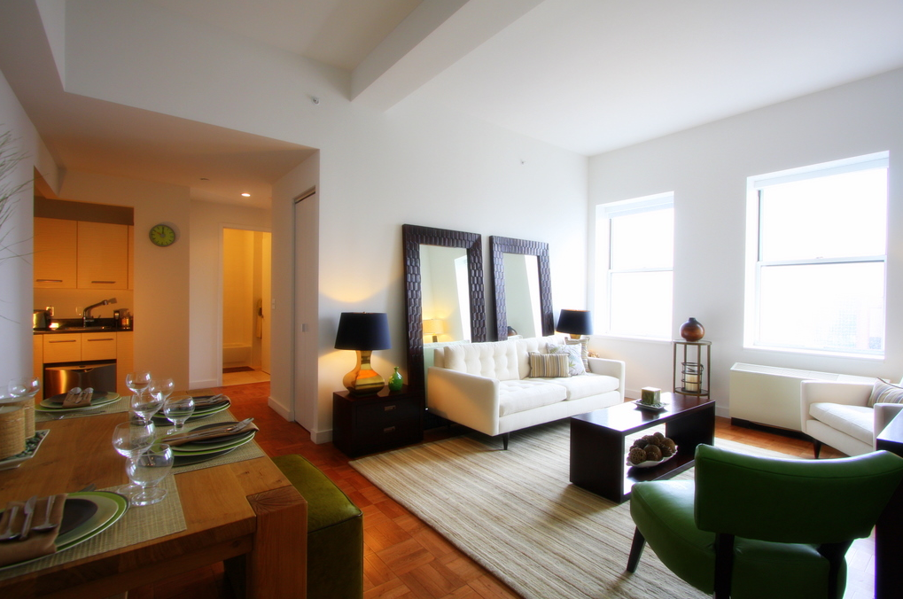 20 Exchange Place apartments for rent Sitting Room
