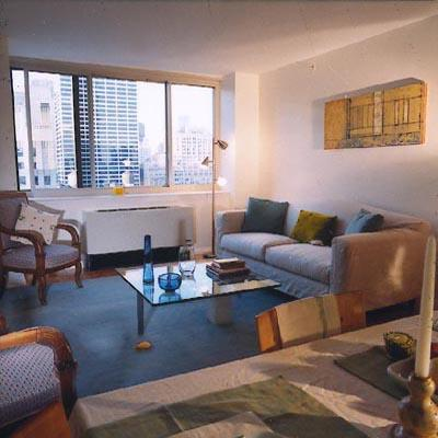 66 West 38th Street Sitting Room - NYC Rental Apartments