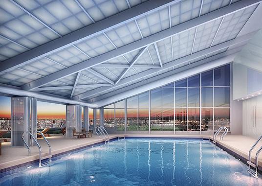 322 West 57th Street Swimming Pool - Midtown West Rental Apartments