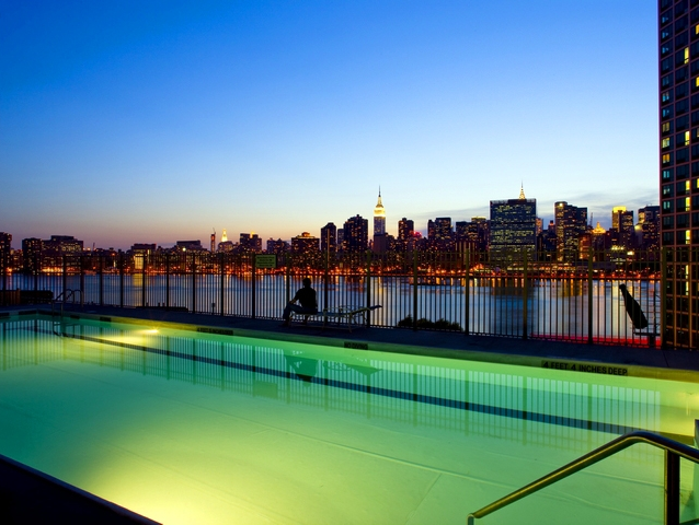Swimming Pool and View at Avalon Riverview North - Long Island City Rentals