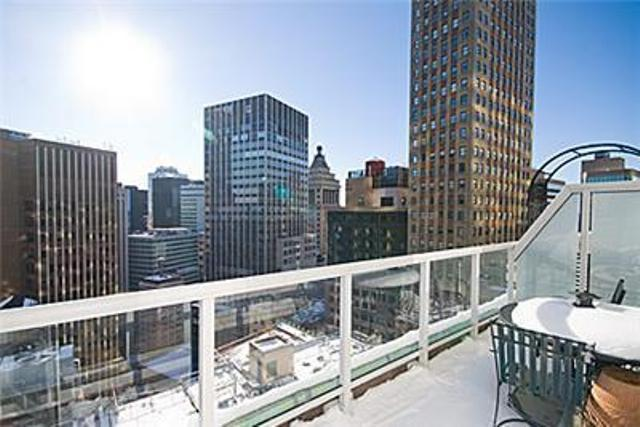 Terrace of NYC Rental Apartments at 15 Broad Street