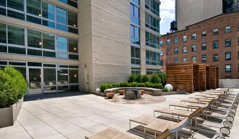 505 West 37th Street Terrace - Clinton Apartment Rentals