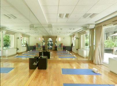 260 West 54th Street Yoga Room - NYC Rental Apartments