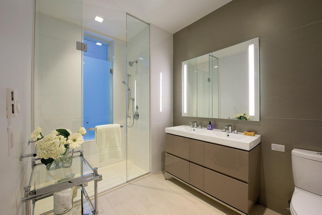 Bathroom at Aalto 57 in Turtle Bay - Apartments for rent