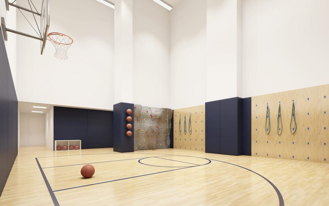 Basketball Court at 1065 Second Avenue in NYC - Condos for rent