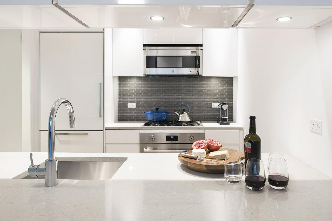 Open Kitchen at 1065 Second Avenue in Manhattan