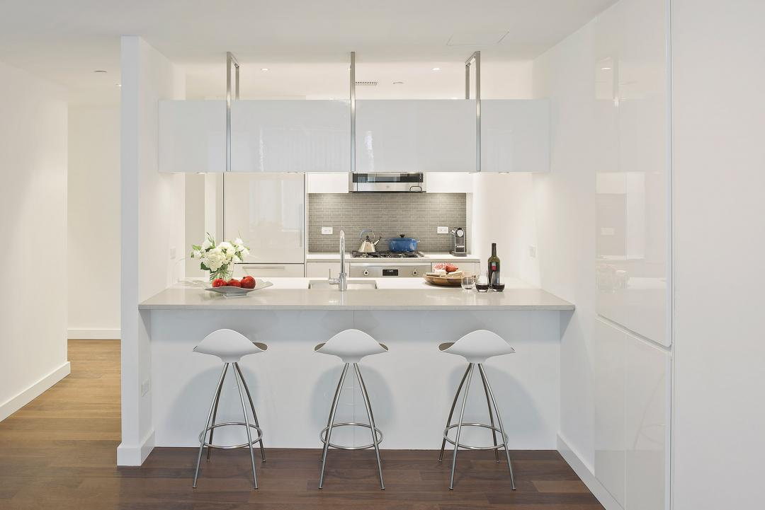 Condos for rent at Aalto 57 in NYC - Open Kitchen