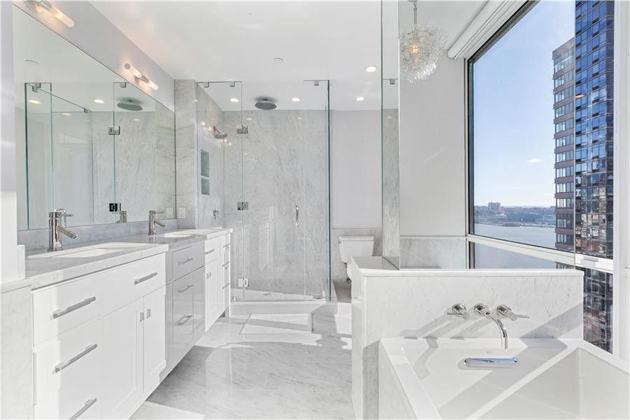 Bathroom at Ambassador East - Aparments for rent in NYC