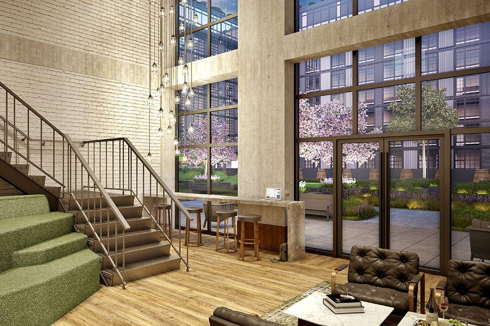 Apartments for rent at 30-02 39th Avenue in NYC - Lounge