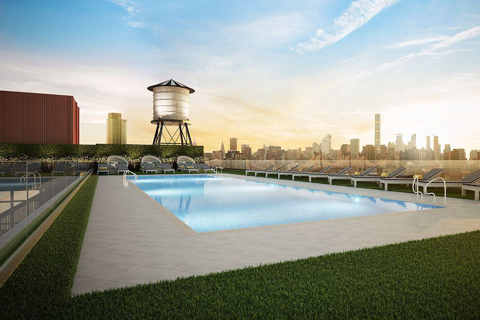 Pool at 30-02 39th Avenue in Long Island City