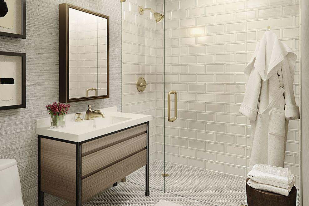 Apartments for rent at 30-02 39th Avenue in Long Island City - Bathroom