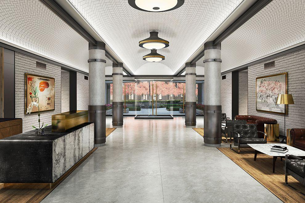 The Building's Lobby at 30-02 39th Avenue in NYC