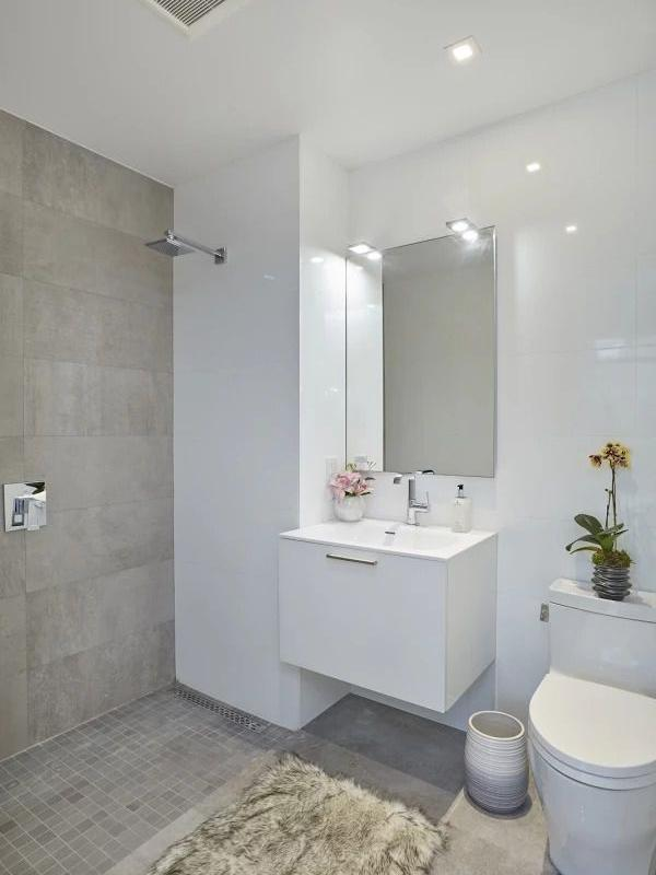 Bathroom at 24-12 42nd Road in Long Island City - Apartments for rent