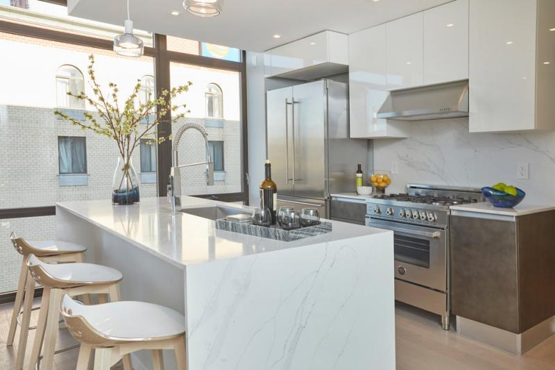 Kitchen at 24-12 42nd Road in Long Island City - Apartments for rent