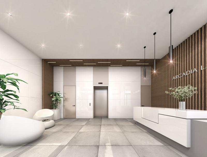 Condos for rent at Arcadia LIC in Long Island City - Lobby