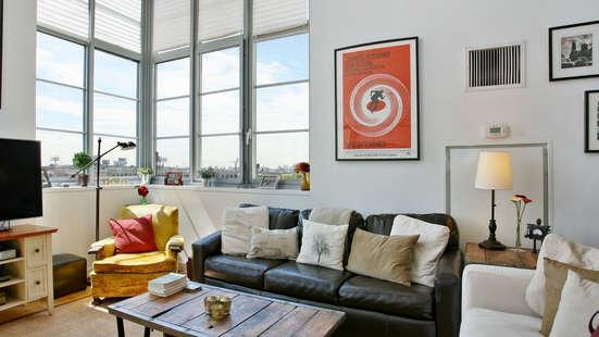 Living Room - 27-28 Thomson Avenue - Long Island City Rental Apartments