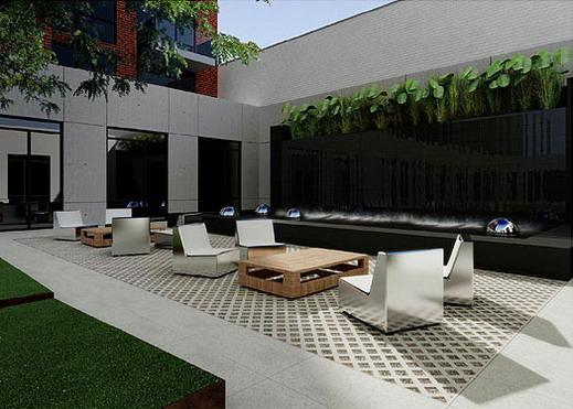 +Art New Construction Building Art yard - NYC Condos