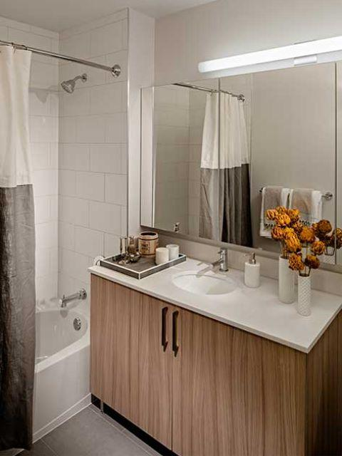 Bathroom at Avalon Willoughby Square - Apartments for rent