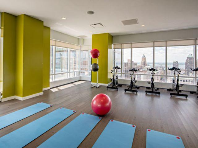 Fitness Room at Avalon Willoughby Square - Apartments for rent