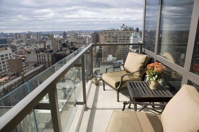 Balcony - Chelsea Stratus Condominiums - Manhattan