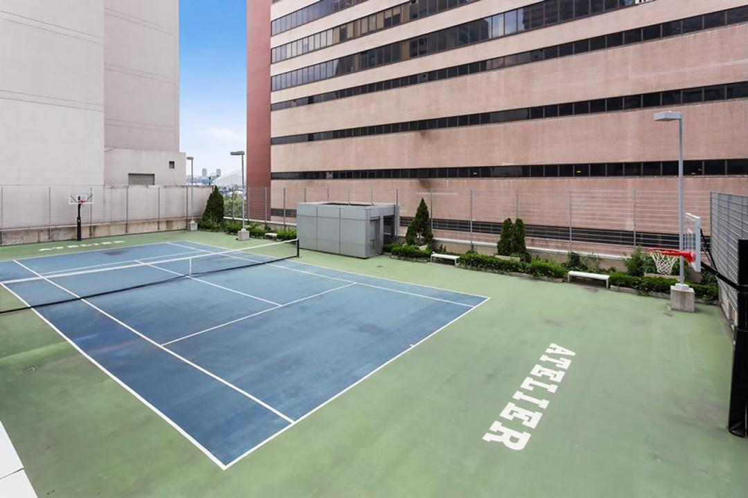 Basketball and Tennis Court at Atelier - 635 West 42nd Street
