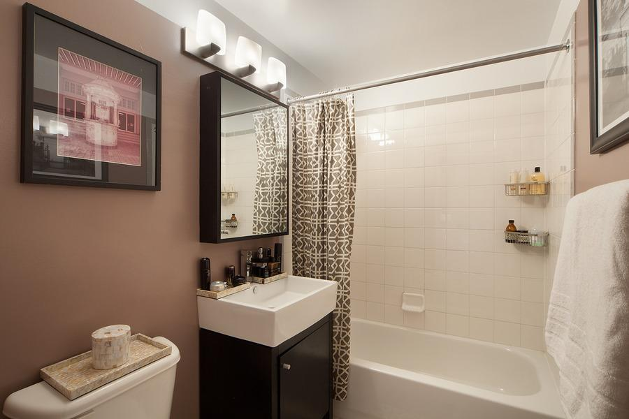 756 Washington Street Bathroom - Midtown East Rental Apartments