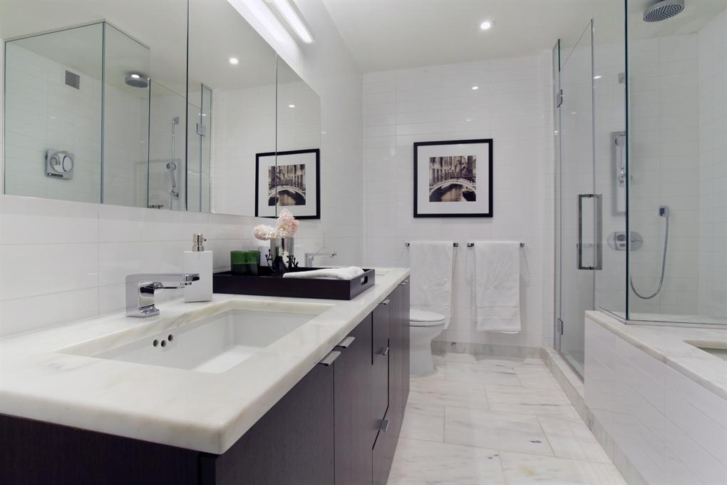 Bathroom - 101 Warren Street - Condos for Rent NYC